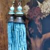 turquoise tassel 30