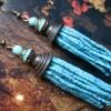 turquoise tassel 31