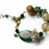 green acorn bracelet