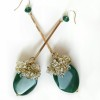 green agate earrings (1)
