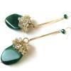green agate earrings (11)