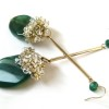 green agate earrings (2)