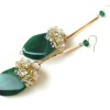 green agate earrings (4)