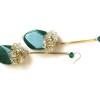 green agate earrings (5)