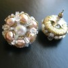 rose pearl cluster earrings (11)