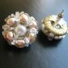 rose pearl cluster earrings (11)