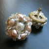 rose pearl cluster earrings (6)